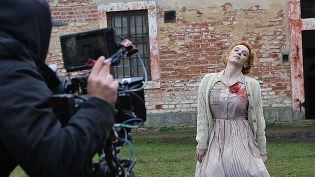 Natáčení filmu Tenkrát v ráji v Terezíně