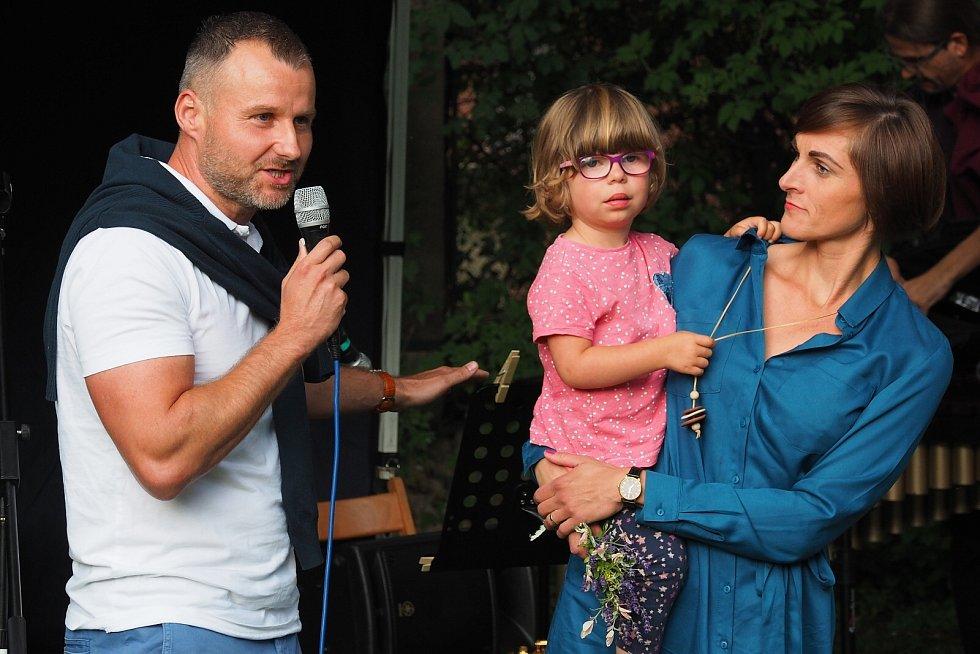 Baudlerovi s Rozálkou Štěpánkovou.