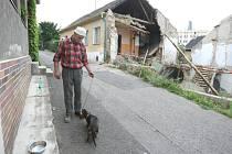 Zřícení domu v Litoměřicích