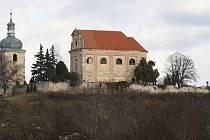 Kostel Nejsvětější Trojice v Zahořanech na Litoměřicku. Archivní foto