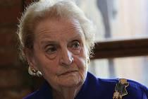 Návštěva Madeleine Albright v Terezíně