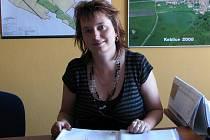V ČELE obecního zastupitelstva obce Keblice stojí už od roku 2005  Naděžda Štětinová.