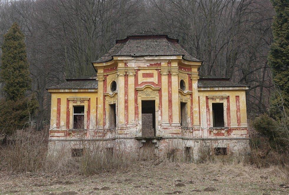 Zámecký park v Milešově