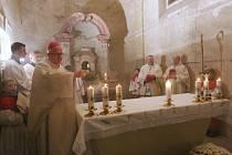 Otevření kostela v Mlékojedech