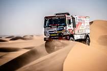 Osmá etapa novodobého Dakaru v Saudské Arábii