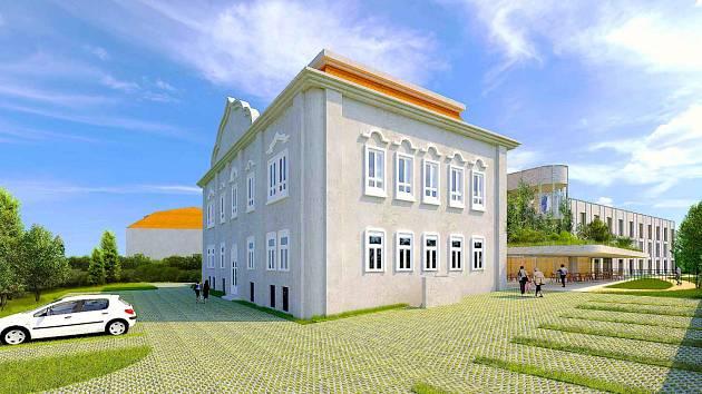 Bývalá budova LDN v Roudnici nad Labem opět ožije
