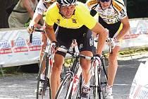 VÍTĚZ. Litoměřický rodák René Andrle si v závodu Lidice 2008 počínal nejlépe.