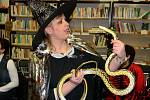 Knihovna v Dušníkách se zaplnila čaroději.