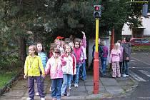 """Akce """"Bezpečná cesta do školy""""."""
