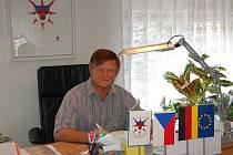 Starosta Třebívlic Jaroslav Seifert.