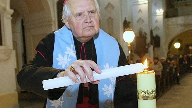 Emeritní biskup Josef Koukl.