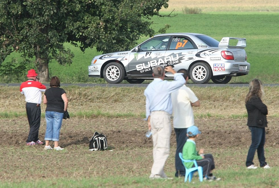 Rally České středohoří 2012.