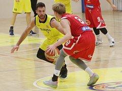 Basketbalový zápas mezi Litoměřice a Nymburkem