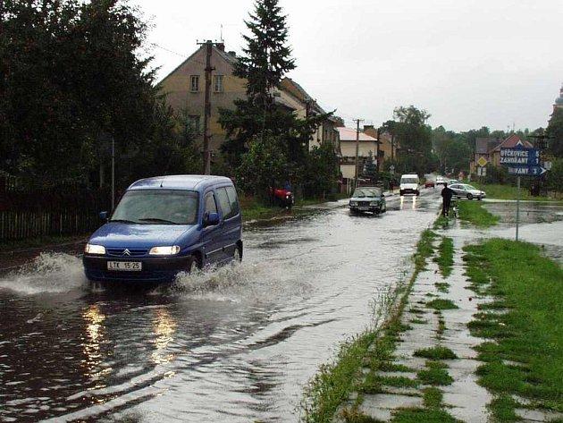 Křešice - srpen 2002