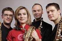 Mladé saxofonové kvarteto Saxofourte