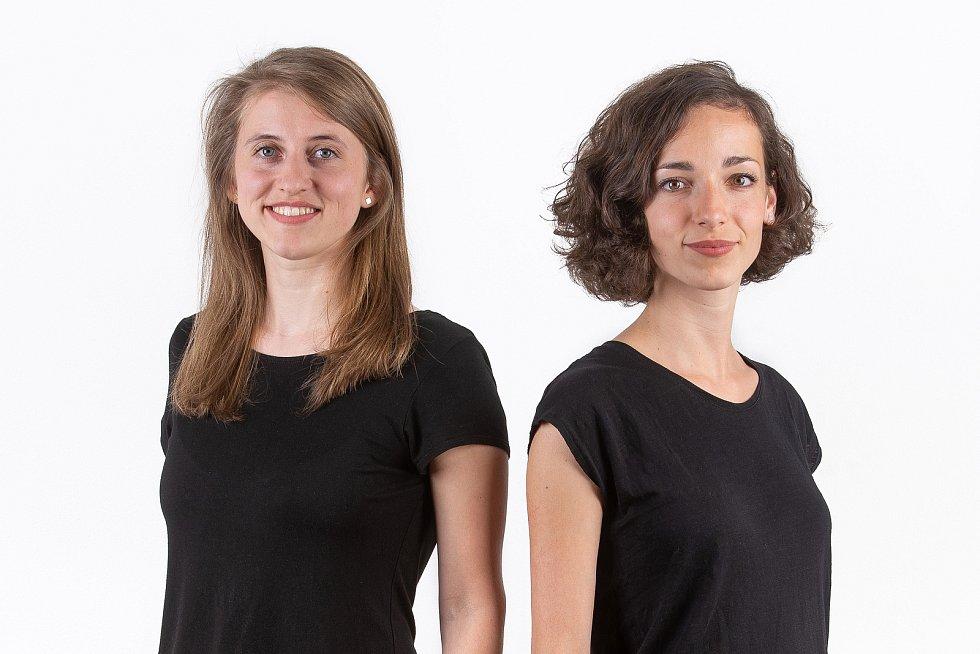 Grafické studio Svéráz tvoří Petra Kalousková a Eva Vopelková