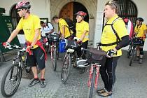 Účastníci Tour de Labe projeli Litoměřickem.