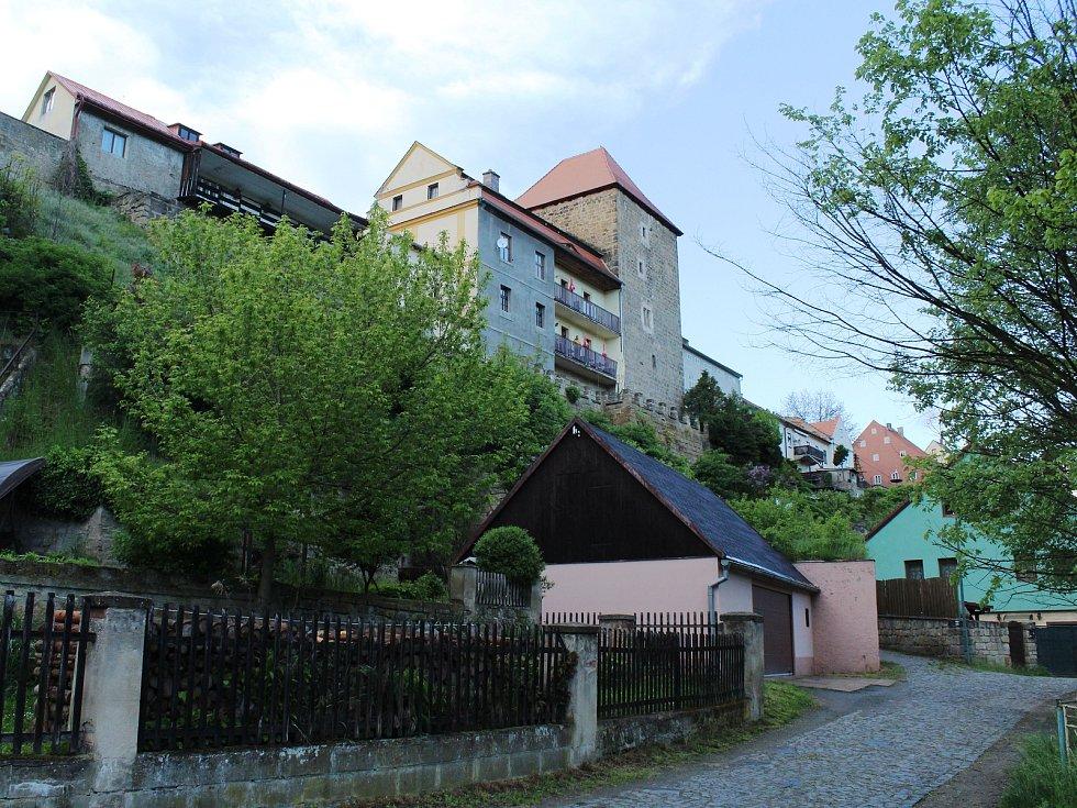 Město Úštěk.