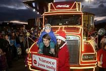 Vánoční kamion v Litoměřicích