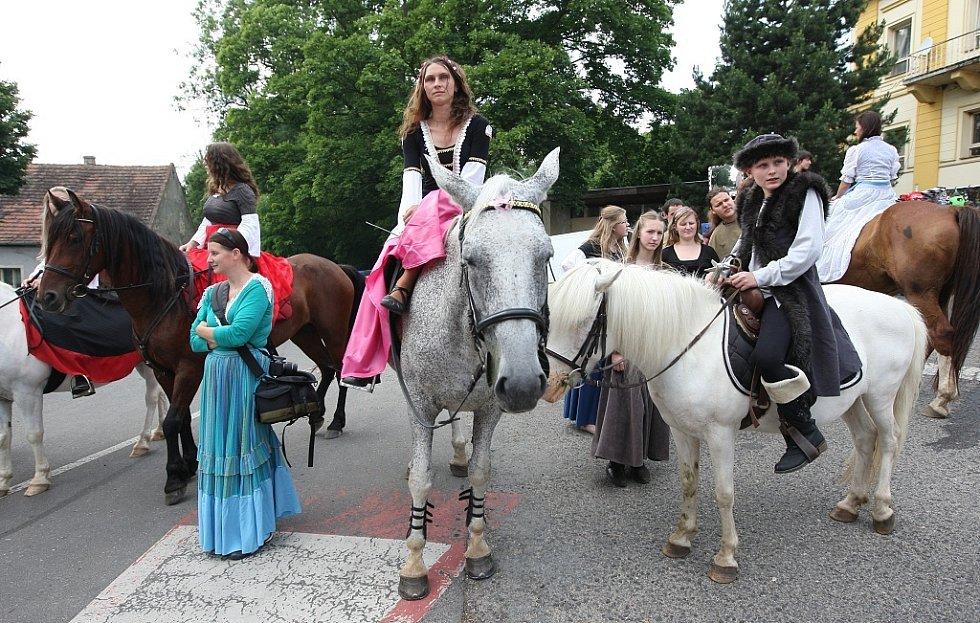 Husitské slavnosti v Třebušíně.