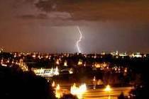 Sobotní bouřka