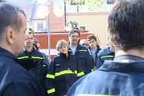 Z archivu dobrovolných hasičů z Dušníků.