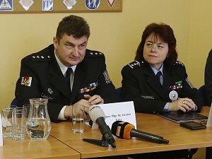 Bilanční tisková konference policie za rok 2017