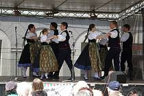 Festival folklórních souborů v Lovosicích, rok 2015.