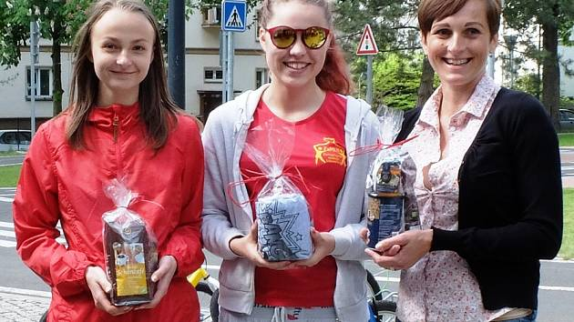 Vítězky soutěže o nejlepší férovou buchtu.