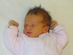 Michaela Hrdá se narodila Michaele Hrdé z Lovosic 13. ledna v 17.07 hodin v Litoměřicích. Měřila 49 cm a vážila 2,59 cm.