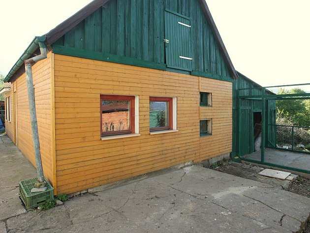 Záchranná stanice Falco vDolním Týnci
