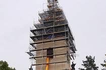 Kostel v Bohušovicích prochází opravou