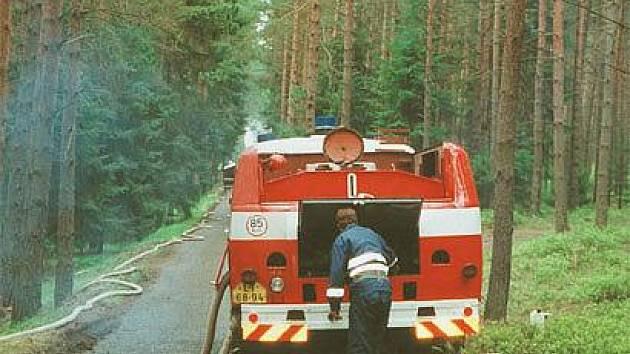 Z archivu prackovických dobrovolných hasičů.