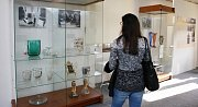 Výstava Sklo ve službách politiky v litoměřickém muzeu