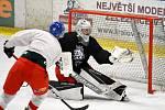 Přípravný kemp české hokejové reprezentace do 20 let v litoměřické Kalich aréně.