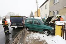 Dopraní nehoda v Křešicích