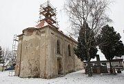 Keblický kostel.