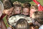 Tradiční předprázdninový Dětský den se uskutečnil v sobotu 24. června v areálu fotbalového hřiště ve Velemíně.
