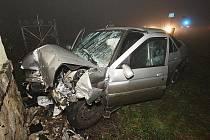 Vážná nehoda u Třebívlic