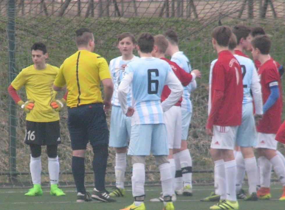 Finále Zimní ligy Ústeckého krajského fotbalového svazu st. žáků Roudnice - Mostecký FK
