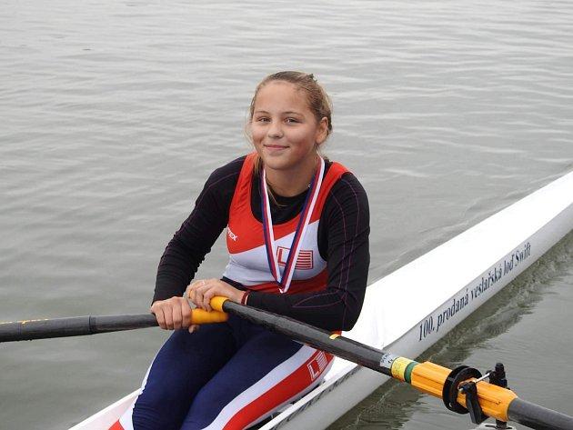 Veronika Štěchová vyhrála skif.