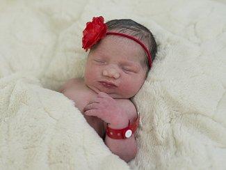 Eva Rafajová se narodila Janě a Josefu Rafajovým z Vrbice 2.března v 10.06 hodin v Roudnici n. L. (3,01 kg a 48 cm).