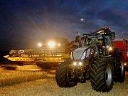 Zemědělci z Klapého na Lovosicku vyjeli do pole v noci