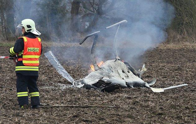 Únor: Pád vrtulníku uBohušovic