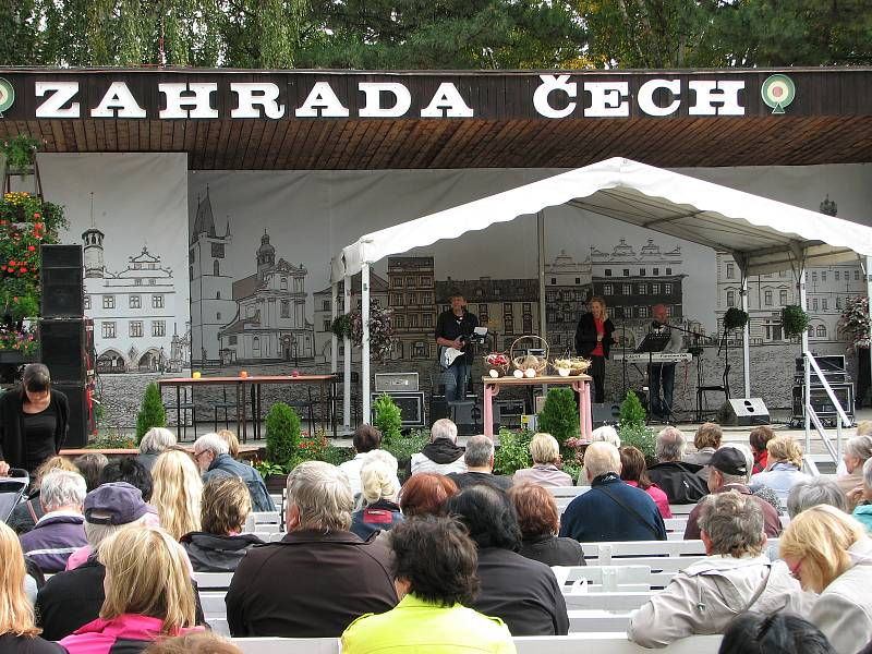 Zahrada Čech, Litoměřice 2018.