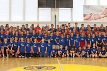 Basketbalový kemp v Litoměřicích.