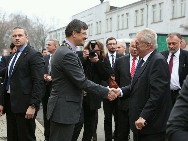 Miloš Zeman v Ústeckém kraji