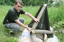 Kontroly v lesech kvůli kůrovcům.