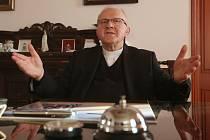 Litoměřický biskup Jan Baxant.