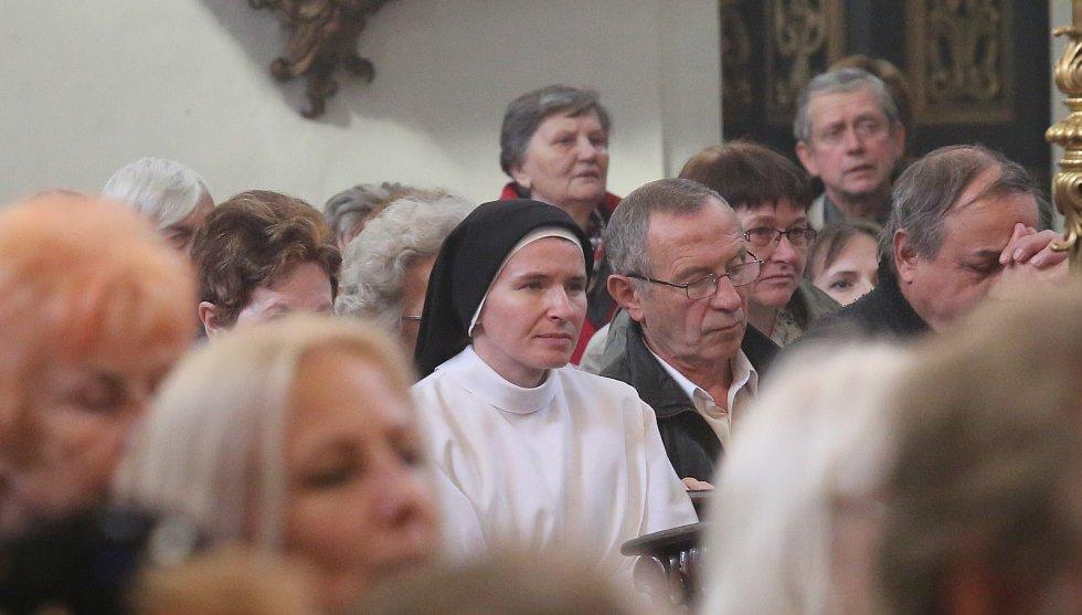 Milostná socha Panny Marie Fatimské zavítala do Litoměřic.
